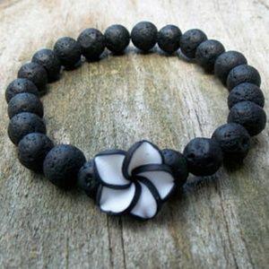 Jewelry - Handmade Lava Stone Essential Oil Diffuser Bracele